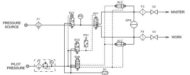 LS-R740(ZL) 空気回路図