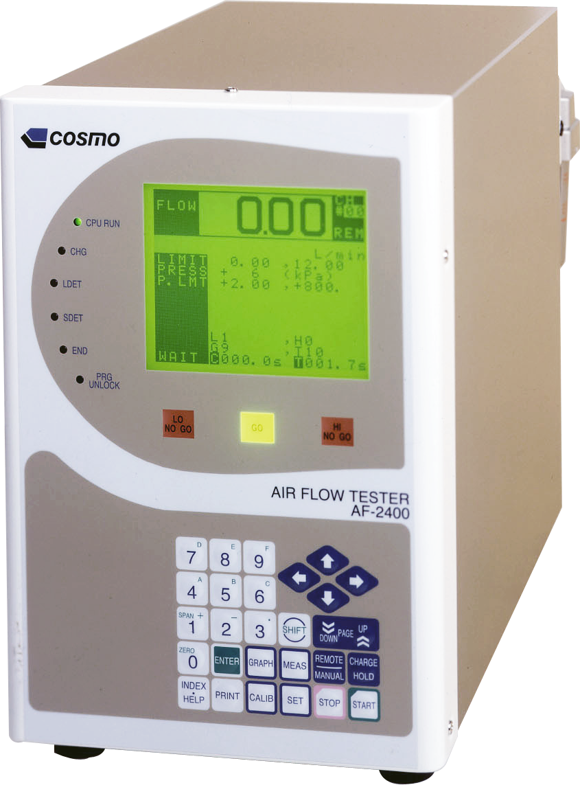 Air Flow Tester Compact Model Af 2400 Cosmo Leak Tester