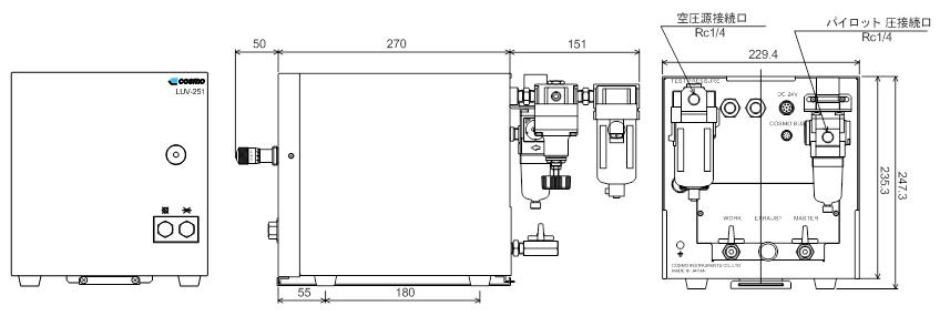 LS-R740WL 空圧ユニット