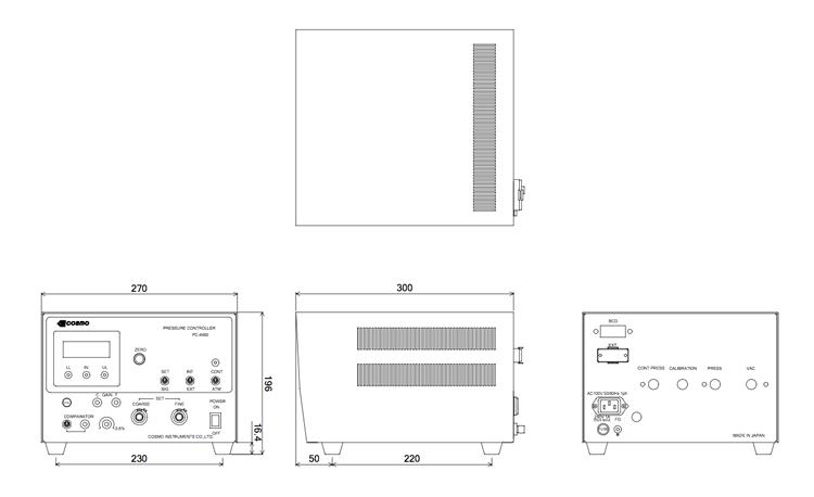 PC-4660外観図